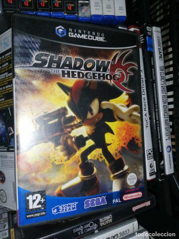 Videojuegos y Consolas: sonic shadow the hedgehod solo caja e instrucciones game cube - Foto 2 - 198075603