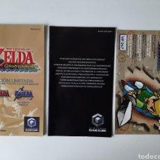 Videogiochi e Consoli: MANUAL ZELDA WIND WAKER EDICION LIMITADA GAMECUBE. Lote 198757986