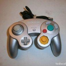 Videojuegos y Consolas: MANDO ORIGINAL NINTENDO GAMECUBE GRIS . Lote 198962631