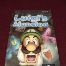 Videojuegos y Consolas: MANUAL LUIGI'S MANSIÓN, GAME CUBE. Lote 198996463