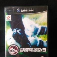 Videojuegos y Consolas: NINTENDO GAMECUBE INTERNATIONAL SUPERSTAR SOCCER 3 LEER DESCRIPCION. Lote 199300438