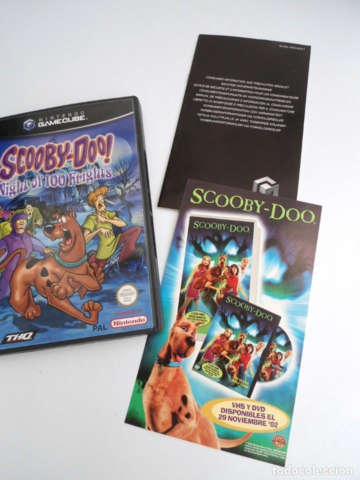SCOOBY-DOO! - NINTENDO GAMECUBE - DISCO Y CAJA CON FLYER - MUY BUEN ESTADO (Juguetes - Videojuegos y Consolas - Nintendo - Gamecube)