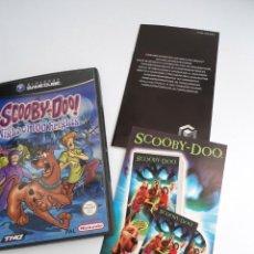 Videojuegos y Consolas: SCOOBY-DOO! - NINTENDO GAMECUBE - DISCO Y CAJA CON FLYER - MUY BUEN ESTADO. Lote 199427668
