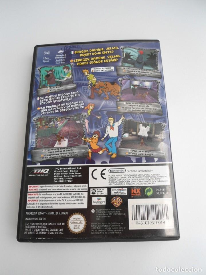 Videojuegos y Consolas: SCOOBY-DOO! - NINTENDO GAMECUBE - DISCO Y CAJA CON FLYER - MUY BUEN ESTADO - Foto 5 - 199427668