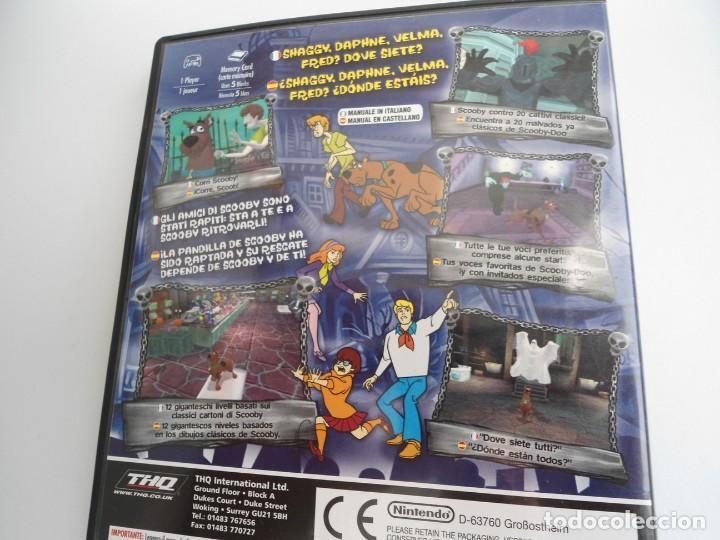 Videojuegos y Consolas: SCOOBY-DOO! - NINTENDO GAMECUBE - DISCO Y CAJA CON FLYER - MUY BUEN ESTADO - Foto 6 - 199427668