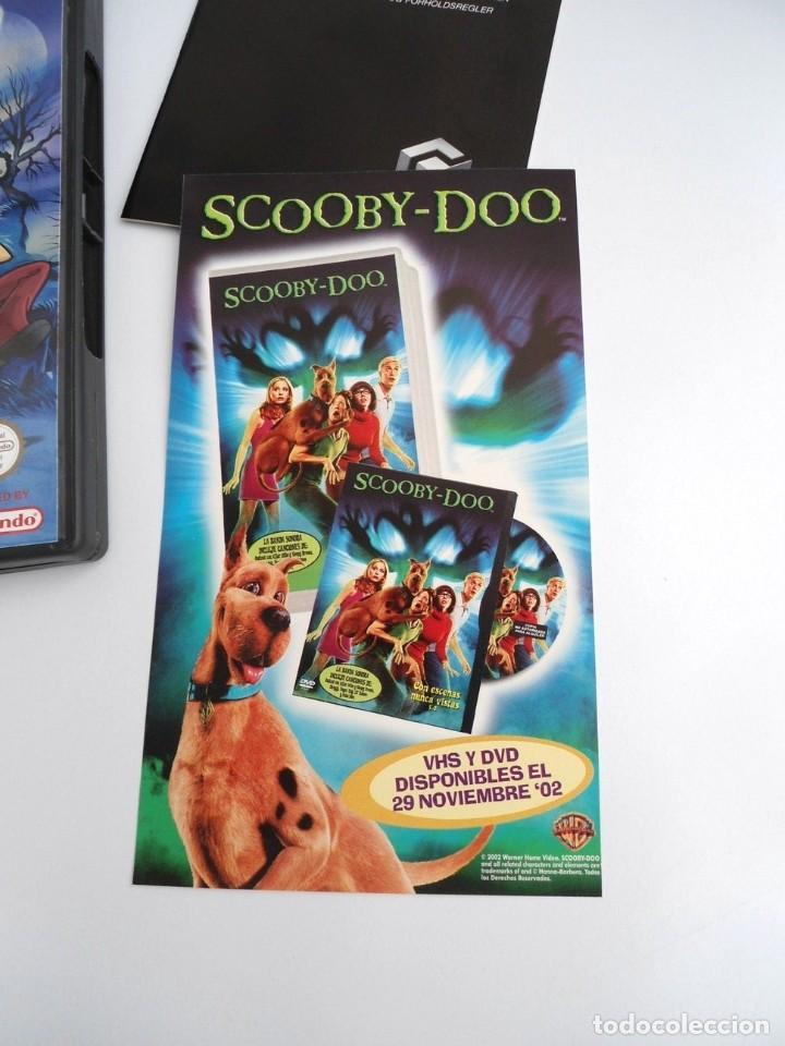 Videojuegos y Consolas: SCOOBY-DOO! - NINTENDO GAMECUBE - DISCO Y CAJA CON FLYER - MUY BUEN ESTADO - Foto 9 - 199427668