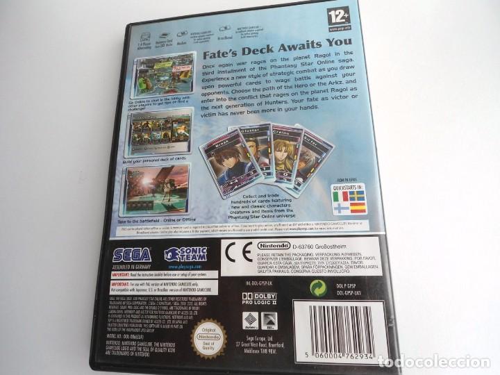Videojuegos y Consolas: PHANTASY STAR ONLINE III - NINTENDO GAMECUBE - JUEGO COMPLETO CON INSTRUCCIONES - BUEN ESTADO - Foto 6 - 199665545