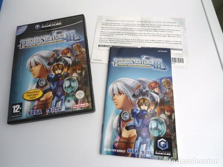 PHANTASY STAR ONLINE III - NINTENDO GAMECUBE - JUEGO COMPLETO CON INSTRUCCIONES - BUEN ESTADO (Juguetes - Videojuegos y Consolas - Nintendo - Gamecube)