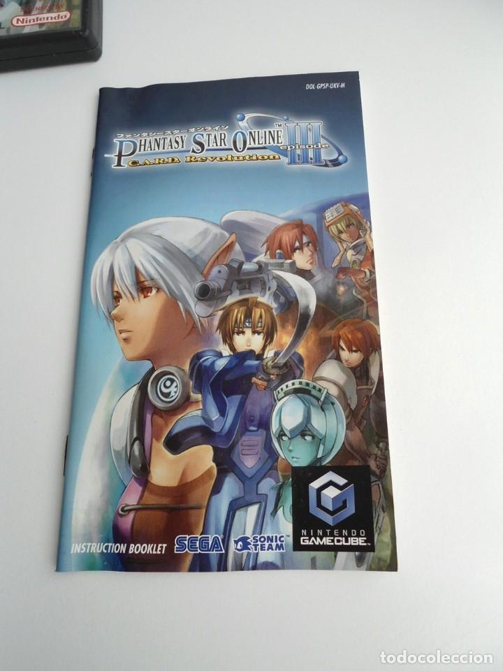 Videojuegos y Consolas: PHANTASY STAR ONLINE III - NINTENDO GAMECUBE - JUEGO COMPLETO CON INSTRUCCIONES - BUEN ESTADO - Foto 9 - 199665545