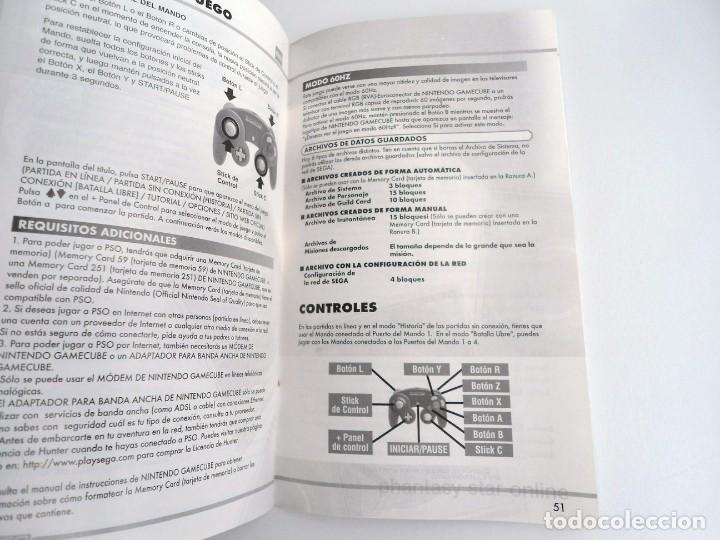 Videojuegos y Consolas: PHANTASY STAR ONLINE III - NINTENDO GAMECUBE - JUEGO COMPLETO CON INSTRUCCIONES - BUEN ESTADO - Foto 10 - 199665545