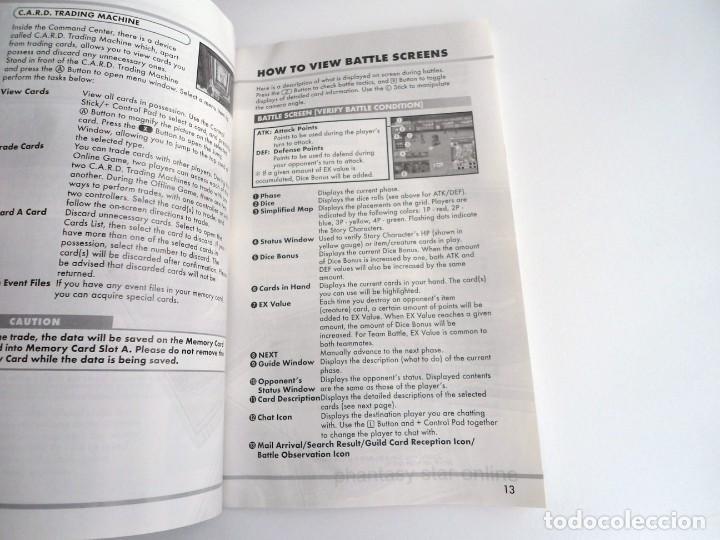 Videojuegos y Consolas: PHANTASY STAR ONLINE III - NINTENDO GAMECUBE - JUEGO COMPLETO CON INSTRUCCIONES - BUEN ESTADO - Foto 11 - 199665545