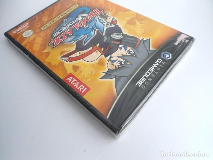 Videojuegos y Consolas: BEYBLADE V-FORCE VFORCE - NINTENDO GAMECUBE - JUEGO COMPLETO - PRECINTADO - Foto 3 - 199666166