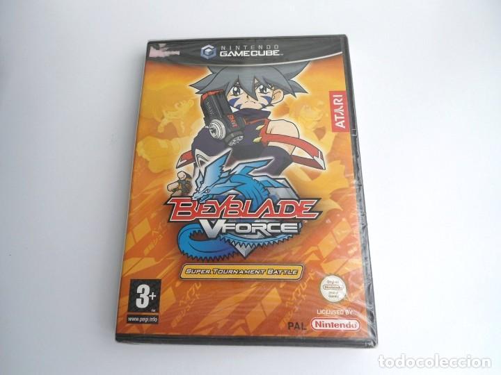 BEYBLADE V-FORCE VFORCE - NINTENDO GAMECUBE - JUEGO COMPLETO - PRECINTADO (Juguetes - Videojuegos y Consolas - Nintendo - Gamecube)