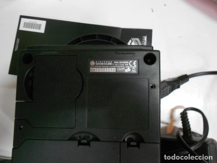 Videojuegos y Consolas: ANITGUA CONSOLA GAMECUBE CON ACCESORIOS VARIOS, JUEGO Y CAJA - Foto 7 - 201494406
