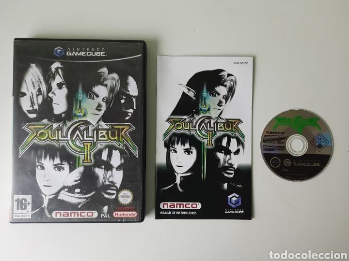 SOUL CALIBUR 2 II NINTENDO GAMECUBE (Juguetes - Videojuegos y Consolas - Nintendo - Gamecube)