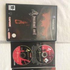 Videojuegos y Consolas: RESIDENT EVIL 4 NINTENDO GAMECUBE GAME CUBE NGC GC KREATEN. Lote 204809291