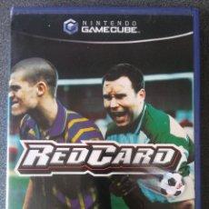 Videojuegos y Consolas: JUEGO NINTENDO GAMECUBE REDCARD. Lote 204988717