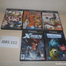 Videojuegos y Consolas: GAMECUBE - PACK DE 5 JUEGOS VARIADOS - PÀL ESPAÑOLES. Lote 205699075