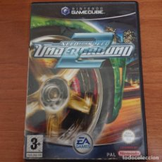 Videojuegos y Consolas: NEED FOR SPEED UNDERGROUND 2 GAMECUBE COMPLETO. Lote 205796503