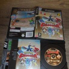Videojuegos y Consolas: NINTENDO GAMECUBE POKEMON COLOSSEUM PAL ESP COMPLETO. Lote 205841618