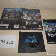 Videojuegos y Consolas: GAMECUBE - TIMESPLITTERS 2 , PAL ESPAÑOL , COMPLETO. Lote 206158230