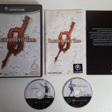 Videojogos e Consolas: RESIDENT EVIL ZERO 0 NINTENDO GAMECUBE. Lote 207657218