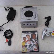 Videojuegos y Consolas: CONSOLA GAME CUBE GRIS. Lote 208314675