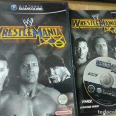 Videojuegos y Consolas: WRESTLEMANIA X8 - GAMECUBE - GAME CUBE NINTENDO - PAL UK. Lote 210209162