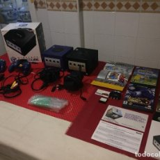 Videojuegos y Consolas: NINTENDO GAMECUBE - SUPER LOTE FUNCIONANDO - 2 CONSOLAS - 4 JUEGOS - ACCESORIOS - ¡¡¡ POR SÓLO 1.-E. Lote 210420842
