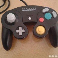 Videojuegos y Consolas: NINTENDO GAMECUBE MANDO CONTROLLER NEGRO ORIGINAL DOL-003 JOYSTICK NUEVOS!! R11208. Lote 211416619