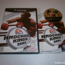Videojogos e Consolas: KNOCKOUT KINGS 2003 NINTENDO GAMECUBE PAL. Lote 211774732