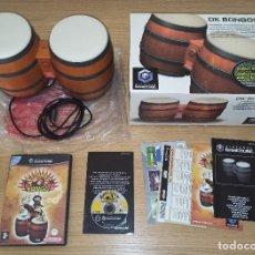 Videojuegos y Consolas: JUEGO GAMECUBE DONKEY KONGA Y BONGOS - COMPLETO - PAL ESPAÑA. Lote 214465623