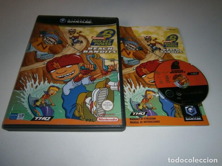 ROCKET POWER BEACH BANDITS NINTENDO GAMECUBE PAL ESPAÑA COMPLETO (Juguetes - Videojuegos y Consolas - Nintendo - Gamecube)