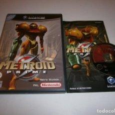 Videogiochi e Consoli: METROID PRIME NINTENDO GAMECUBE PAL ESPAÑA COMPLETO. Lote 269759338