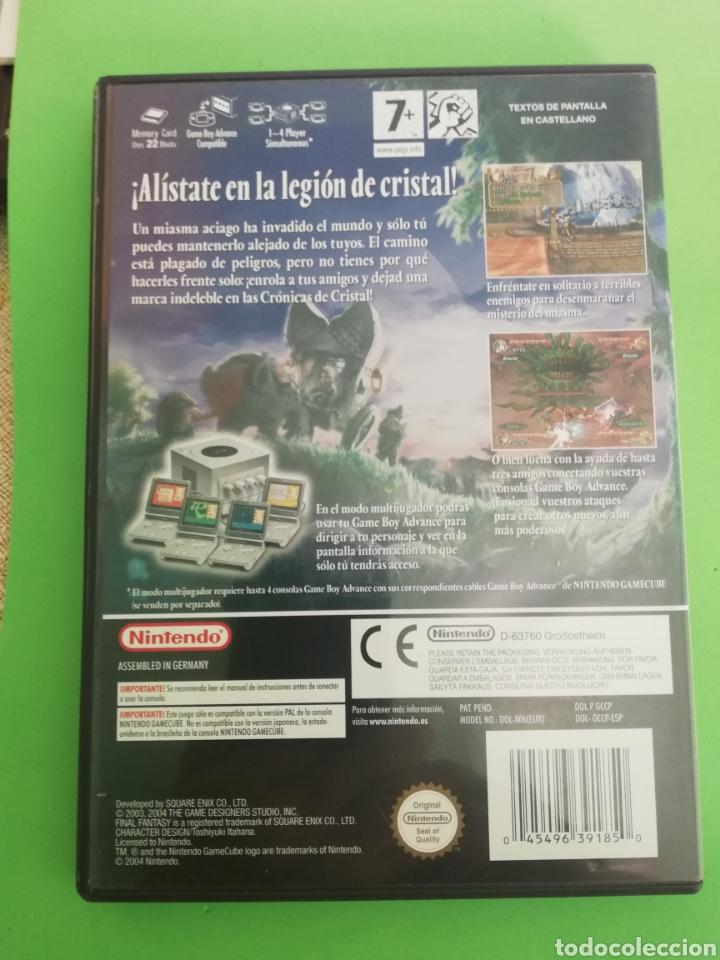 Videojuegos y Consolas: FINAL FANTASY CRISTAL CHRONICLES PAL ESPAÑA - Foto 2 - 217212397
