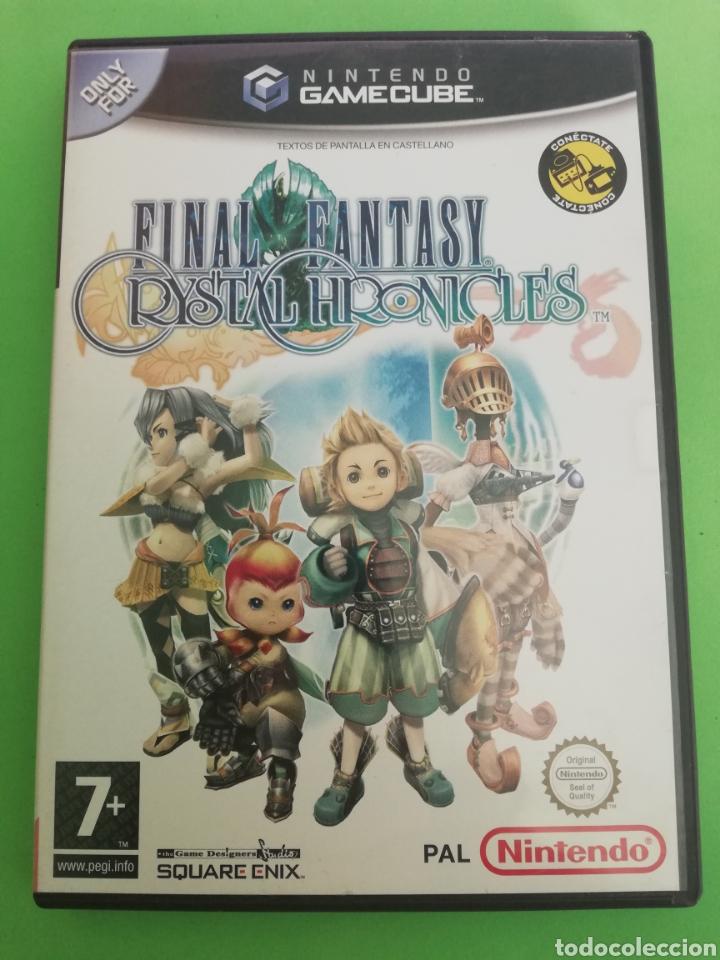 FINAL FANTASY CRISTAL CHRONICLES PAL ESPAÑA (Juguetes - Videojuegos y Consolas - Nintendo - Gamecube)