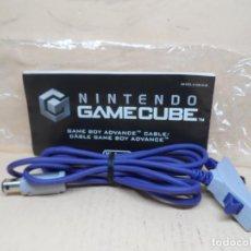 Videojuegos y Consolas: NINTENDO GAMECUBE GAME BOY CABLE COMPLETO. Lote 217453581