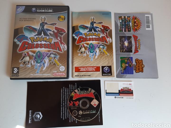 POKEMON COLOSSEUM NINTENDO GAMECUBE (Juguetes - Videojuegos y Consolas - Nintendo - Gamecube)