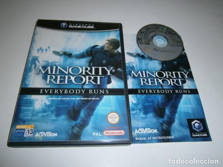 MINOROTY REPORT NINTENDO GAMECUBE PAL ESPAÑA COMPLETO (Juguetes - Videojuegos y Consolas - Nintendo - Gamecube)