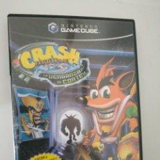 Videojuegos y Consolas: CRASH BANDICOOT LA VENGANZA DE CORTEX PAL DE ESPAÑA GAMECUBE GAME CUBE. Lote 219153475