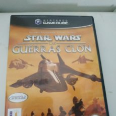 Videojuegos y Consolas: STAR WARS LAS GUERRAS CLON PAL DE ESPAÑA GAMECUBE GAME CUBE. Lote 219156222
