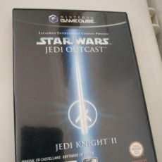 Videojuegos y Consolas: STAR WARS JEDI KNIGHT II JEDI OUTCAST PAL DE ESPAÑA GAMECUBE GAME CUBE. Lote 219156836