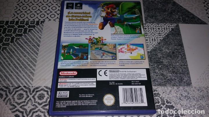 Videojuegos y Consolas: SUPER MARIO SUNSHINE GAMECUBE PAL ESPAÑA COMPLETO - Foto 2 - 219327623