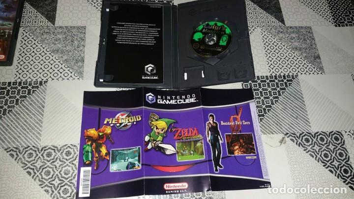Videojuegos y Consolas: LUIGIS MANSION LUIGIS GAMECUBE PAL ESPAÑA - Foto 3 - 219329608