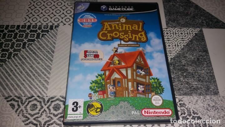 ANIMAL CROSSING GAMECUBE PAL ESPAÑA (Juguetes - Videojuegos y Consolas - Nintendo - Gamecube)
