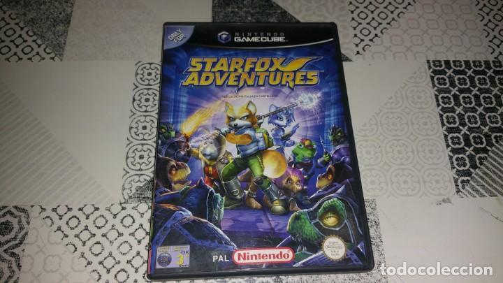 STARFOX ADVENTURES GAMECUBE PAL ESPAÑA COMPLETO (Juguetes - Videojuegos y Consolas - Nintendo - Gamecube)