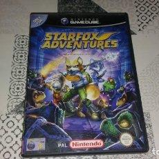 Videojuegos y Consolas: STARFOX ADVENTURES GAMECUBE PAL ESPAÑA COMPLETO. Lote 219380991