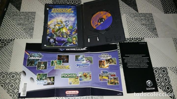 Videojuegos y Consolas: STARFOX ADVENTURES GAMECUBE PAL ESPAÑA COMPLETO - Foto 3 - 219380991