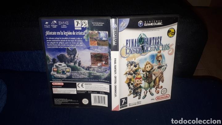 JUEGO FINAL FANTASY CRYSTAL CHRONICLES PARA NINTENDO GAMECUBE (Juguetes - Videojuegos y Consolas - Nintendo - Gamecube)