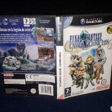 Videojuegos y Consolas: JUEGO FINAL FANTASY CRYSTAL CHRONICLES PARA NINTENDO GAMECUBE. Lote 220969400